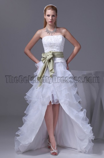 New Style Strapless A-Line Wedding Dress Bridal Gown