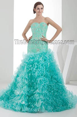 Stunning Trumpet /Mermaid Beaded Formal Evening Dresses