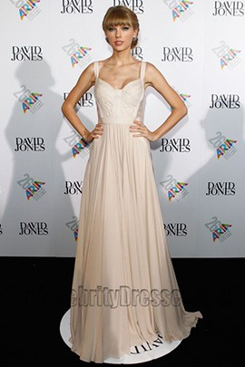 Taylor Swift Prom Dress ARIA Awards 2012 Red Carpet Dresses