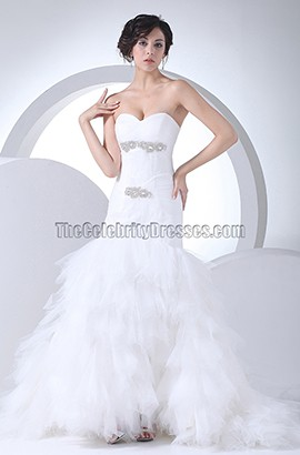 Trumpet / Mermaid Strapless Sweetheart Wedding Dresses