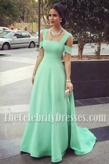 Celebrity-Inspired-Mint-A-Line-Formal-Dress-Evening-Formal-Gown