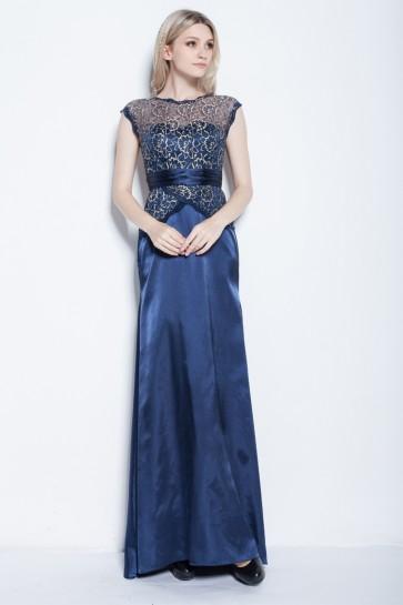 Celebrity Inspired Sleeveless Floor Length Formal Dress Evening Gowns