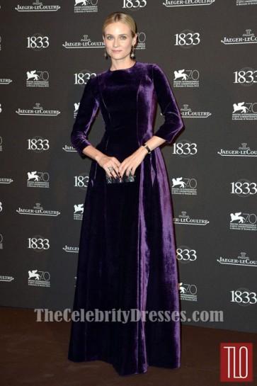 Diane Kruger Regency Evening Dress Jaeger-LeCoultre Gala Dinner