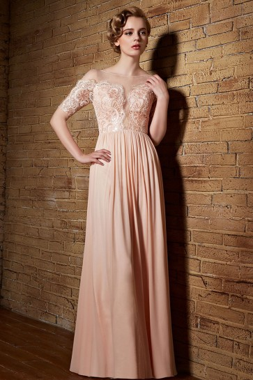 Elegant Floor Length Evening Dress Prom Gown TCDC30839