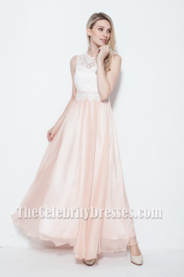 Gorgeous Floor Length Sleeveless Prom Gown Evening Dress
