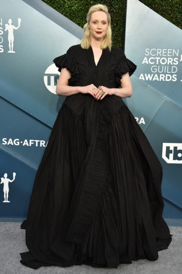 Gwendoline Christie Black Princess Ball Gown 2020 SAG Awards