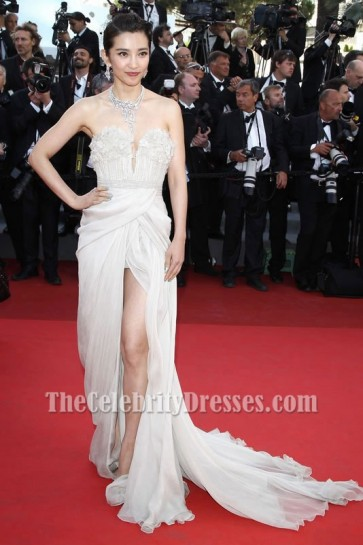 Li Bingbing Strapless Prom Dress Cannes Film Festival 2011 Red Carpet