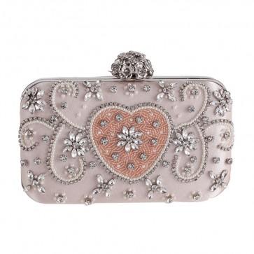 Luxury Rhinestone Fashion Evening Clutch Bag For Sale