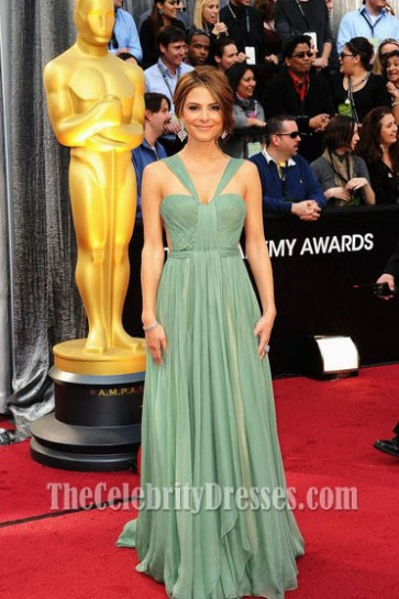 Maria Menounos Prom Evening Dress 2012 Oscar Awards Red Carpet