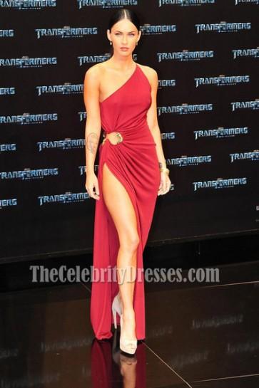Megan Fox Sexy Prom Dress Premiere of Transformers 2 in Berlin Red Carpet