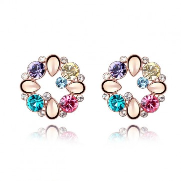 New Arrival Swarovski Element Stud Earrings TCDE0067