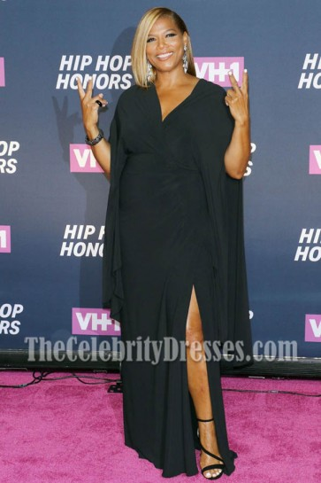 Queen Latifah Black Evening Prom Gown VH1 Hip Hop Honors All Hail The Queens 1