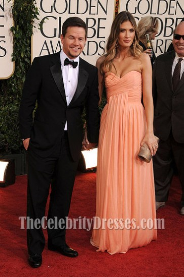 Rhea Durham Strapless Prom Bridesmaid Dress 2011 Golden Globes