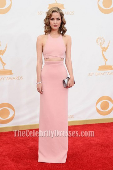 Rose Byrne 2 Piece Fitted Prom Evening Dress 2013 Emmy Awards
