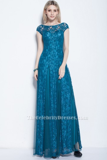Sheath/Column Lace Formal Prom Gown Evening Dresses