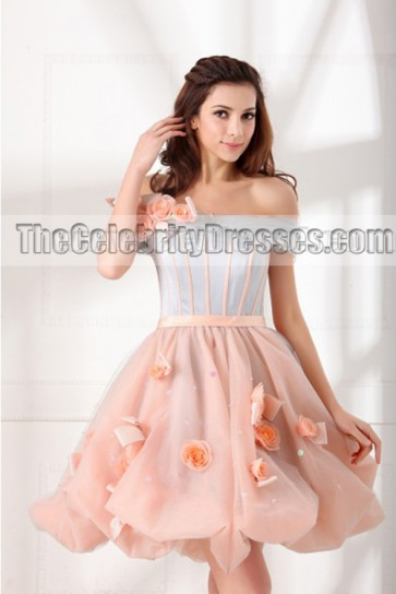 Sweet Sixteen Dresses For Sale Short A-line Off-the-shoulder Cocktail Part Dress