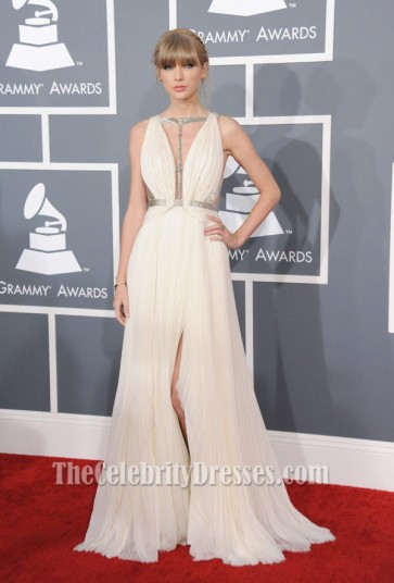 Taylor Swift 2013 Prom Dress Grammys Red Carpet Formal Gown