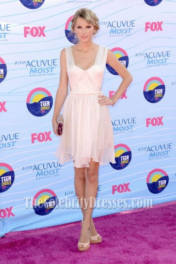 Taylor Swift Cocktail Party Dress 2012 Teen Choice Awards