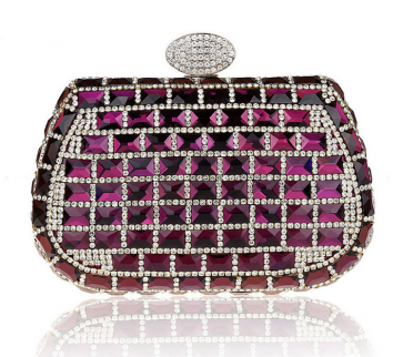 Women Fashion Luxury Evening Bag Diamond Clutch Ladies Party Dress Mini Handbag 4