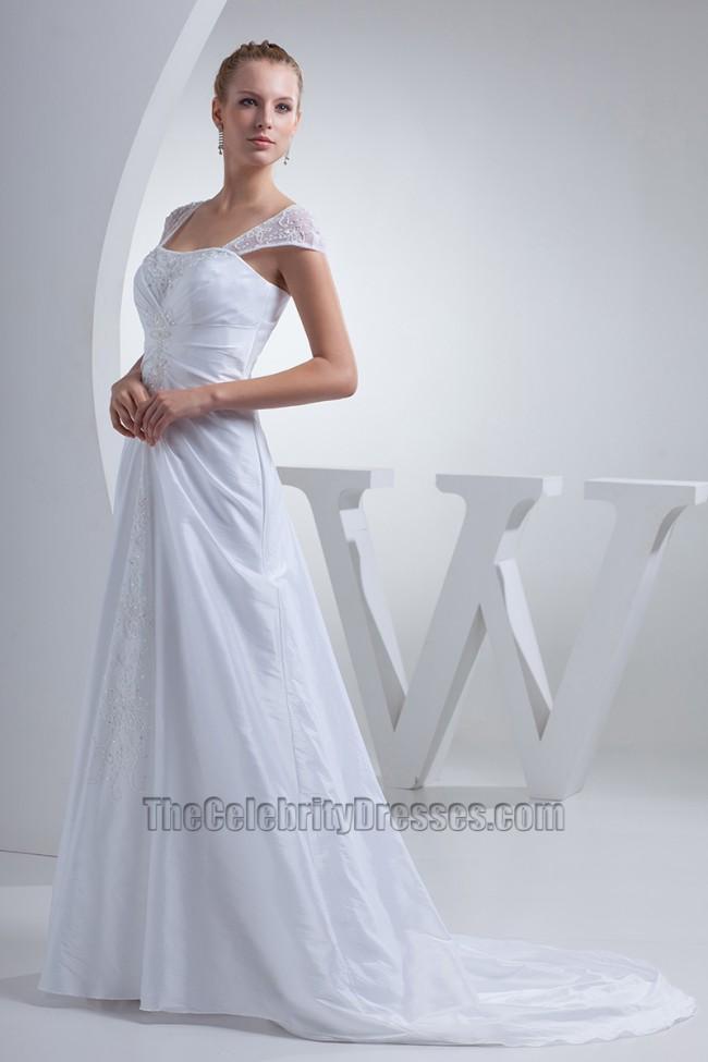 Celebrity Inspired Wedding Dresses 45