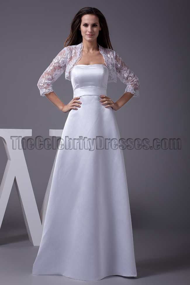 Celebrity Wedding Dress Inspiration : Dresses celebrity inspired sweetheart a line wedding dress with wrap