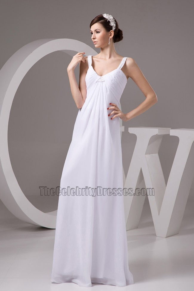 Discount floor length a line chiffon wedding dress bridal for Free wedding dress catalog