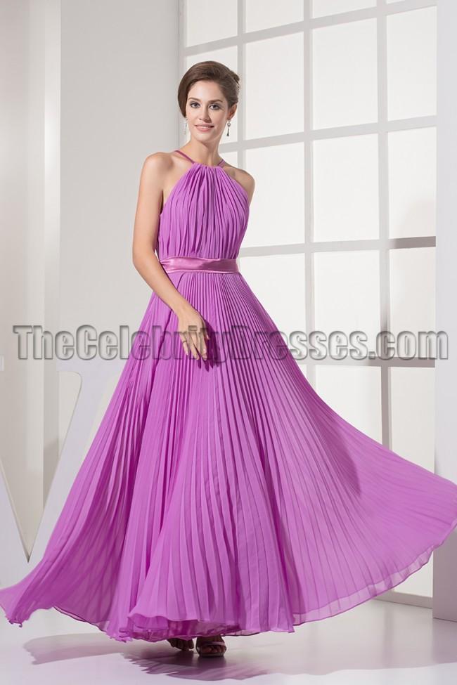 Discount Evening Dresses Chiffon Accessories - Purple Graduation Dresses