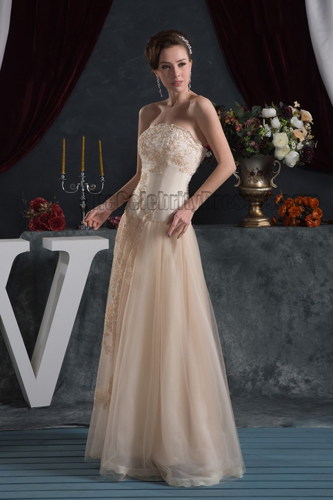 Trumpet Shape Floor length Prom and Evening Gown with