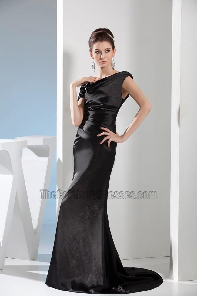 Sheath Column Black Formal Dress Prom Evening Gown