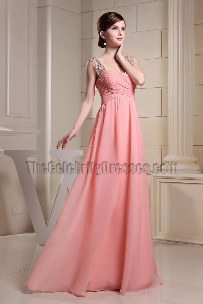 Gorgeous Pink Prom Dress Evening Formal Dresses - TheCelebrityDresses