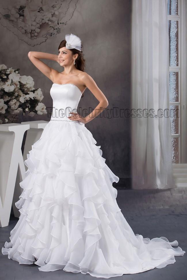 Celebrity Wedding Dress Inspiration : Home wedding celebrity dresses inspired a line