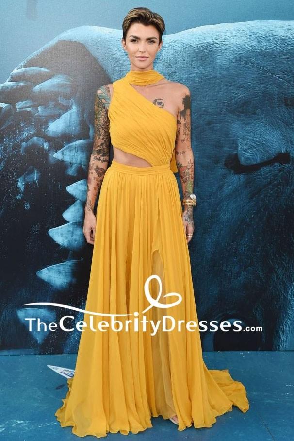 Ruby Rose Sexy Evening Dress The Meg La Premiere Gown