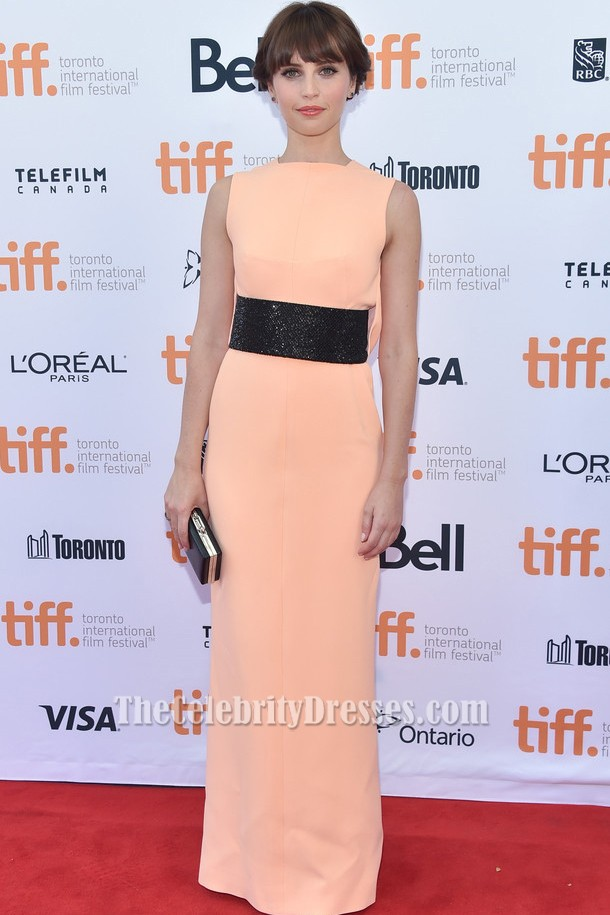 Felicity Jones Formal Dress 2014 Toronto International Film Festival