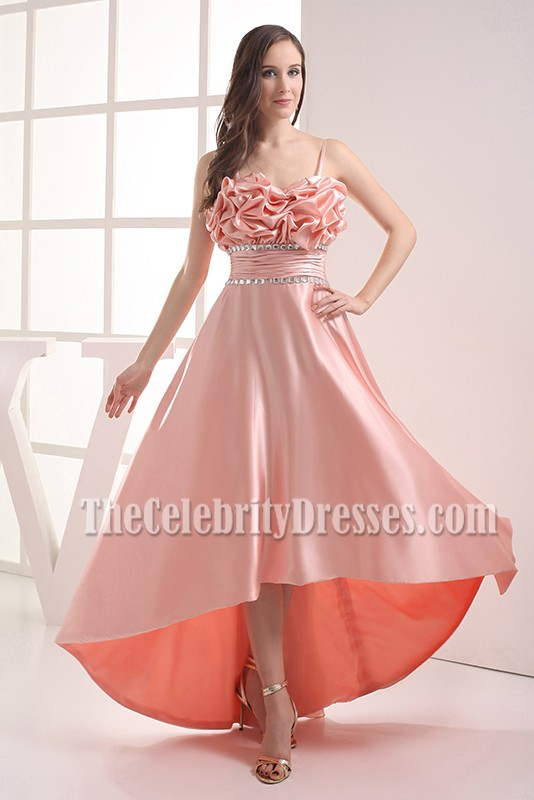 Gorgeous High Low Prom Gown Evening Formal Dresses - TheCelebrityDresses