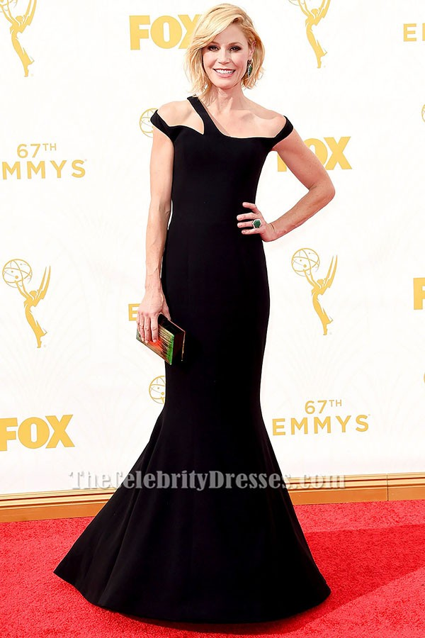 Julie Bowen Black Evening Dress 2015 Emmy Awards Red