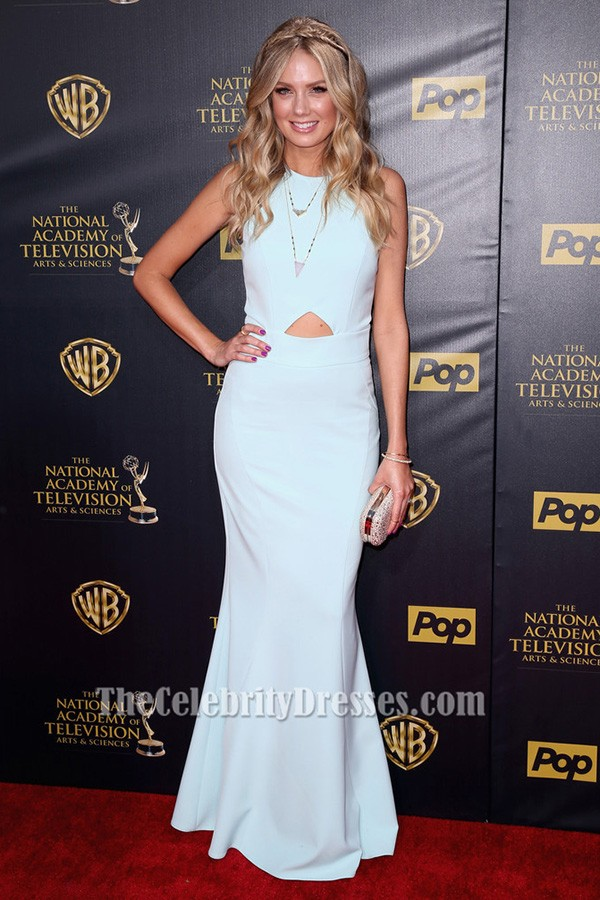 Melissa Ordway Sleeveless Evening Dress 42nd Annual