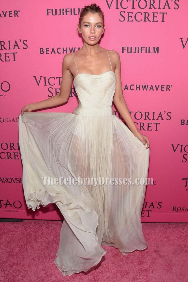 8b0daede40c Stella Maxwell Evening Dress 2015 Victoria s Secret Fashion After Party  TCD6444