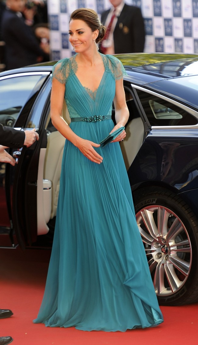 Celebrity long formal dresses