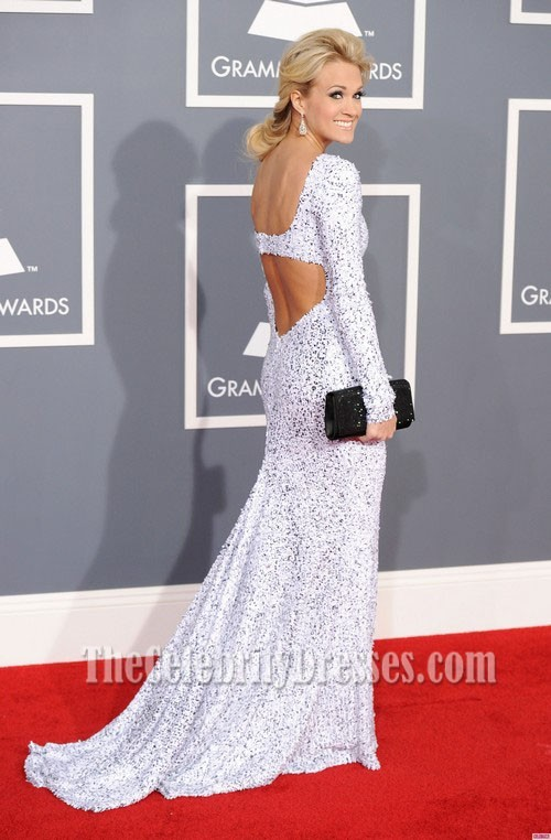 Carrie Underwood Prom Dress Grammy Awards 2012 Red Carpet ...