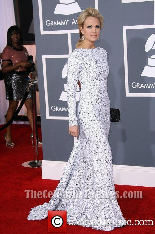 Carrie Underwood Prom Dress Grammy Awards 2012 Red Carpet ...
