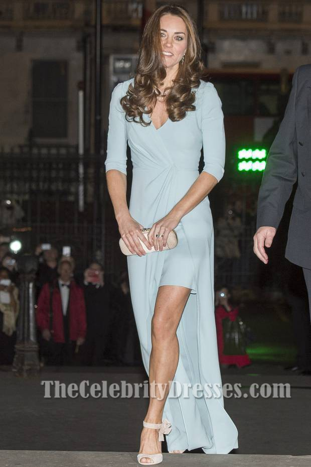 catherine duchess of cambridge evening dress 2014