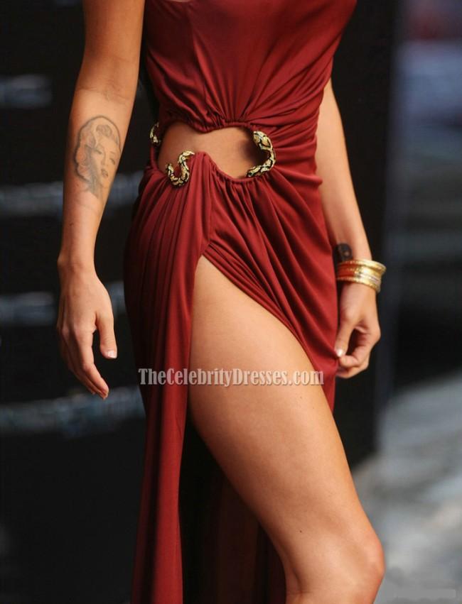 Megan Fox Sexy Prom Dress Premiere Of Transformers 2 In