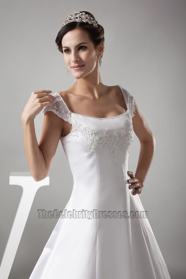 Wedding Dresses for Women with Broad Shoulder