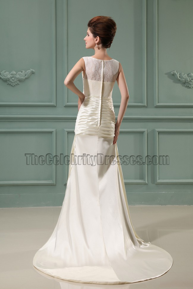 Sheath Column Ivory Long Prom Dress Evening Gowns Thecelebritydresses