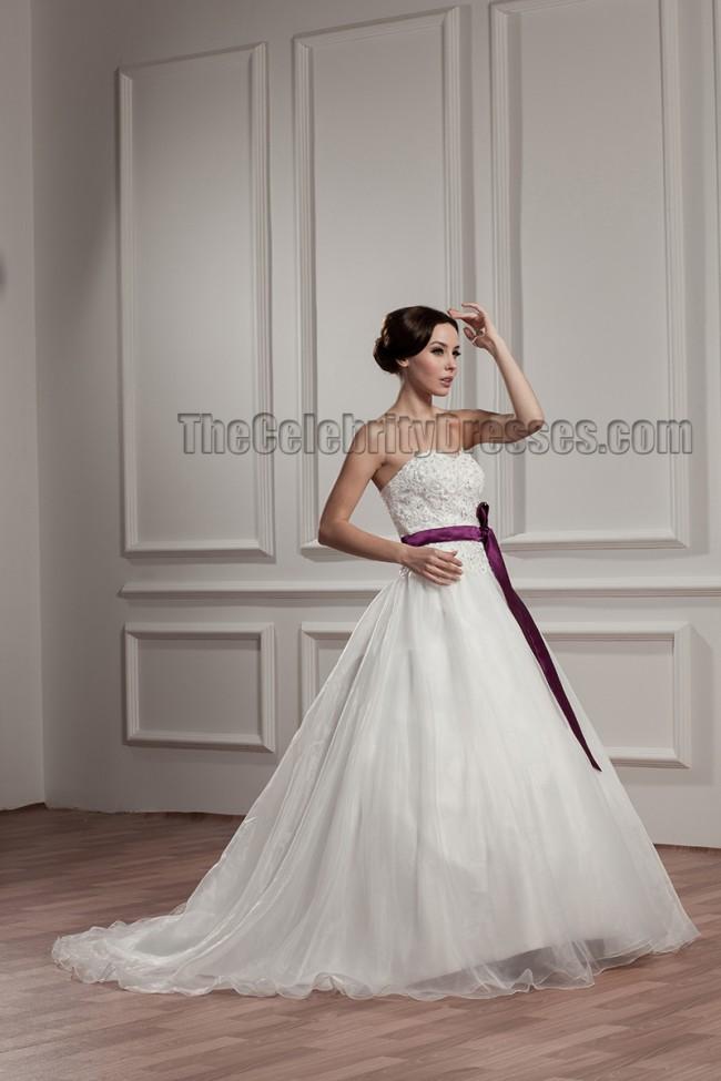 Celebrity Wedding Dress Inspiration : Dresses celebrity inspired sweetheart strapless a line wedding dress