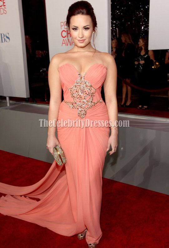 Demi Lovato Strapless Prom Dress 2012 People S Choice