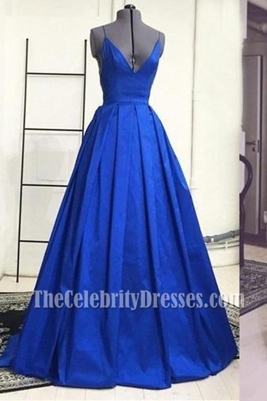 Elegant Green Satin Long Prom Dress Military Ball Gown ...