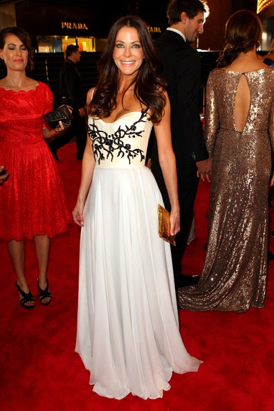 Esther Anderson Evening Dress 2012 Logies Awards Red Carpet ...