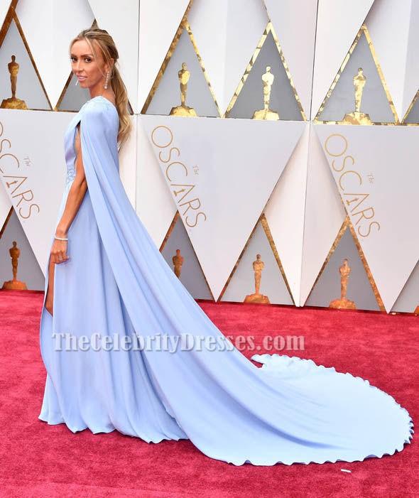 Giuliana Rancic 2017 Oscar Red Carpet Sky Blue Formal ...