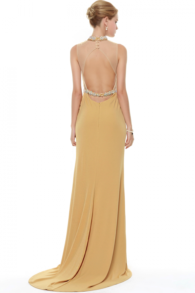 Backless Evening Dresses With Coverups 56